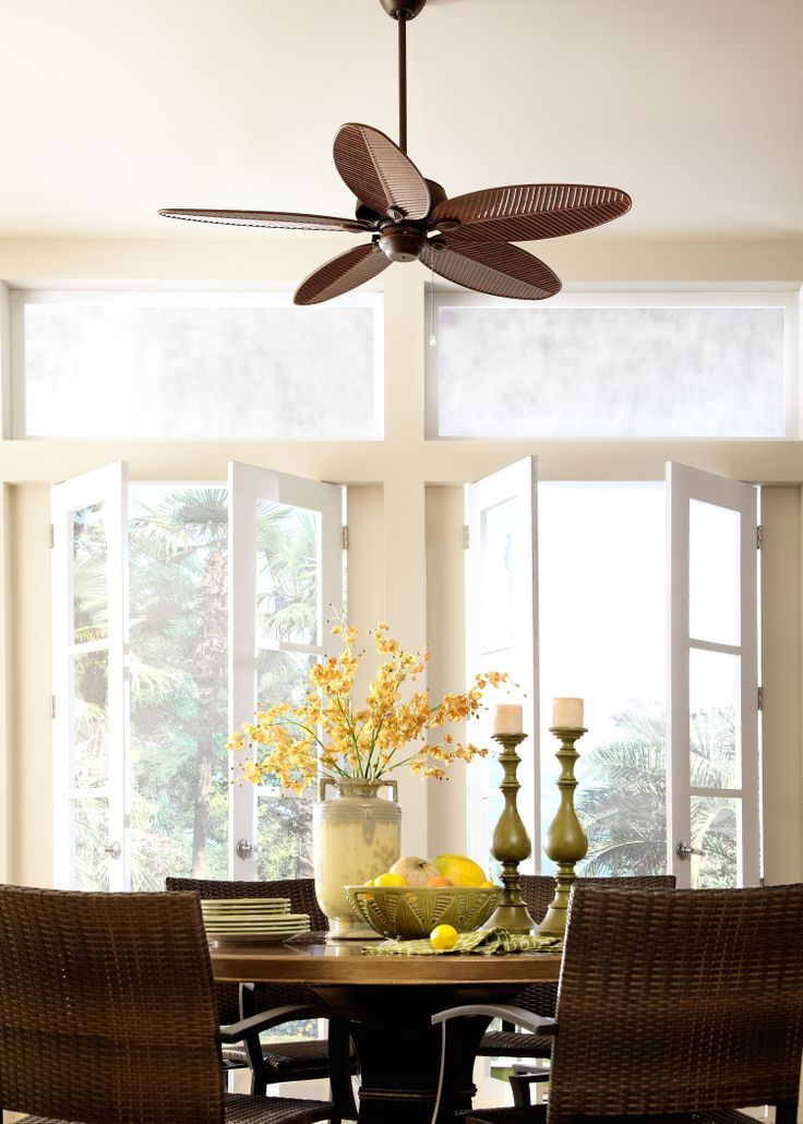 Featuring ABS Palm Blades The Cruise Fan By Monte Carlo Adds A Stylish Look To Your Tropical Retreat