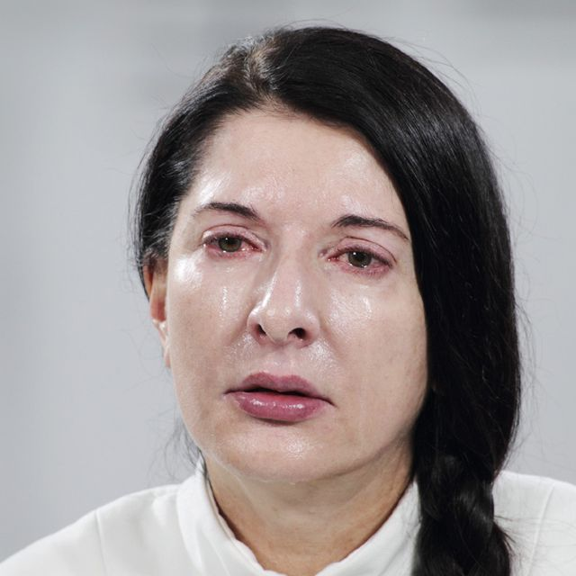 Marina Abramovic \ Performance Artist, performance 2010  I could get lost in her eyes for hours