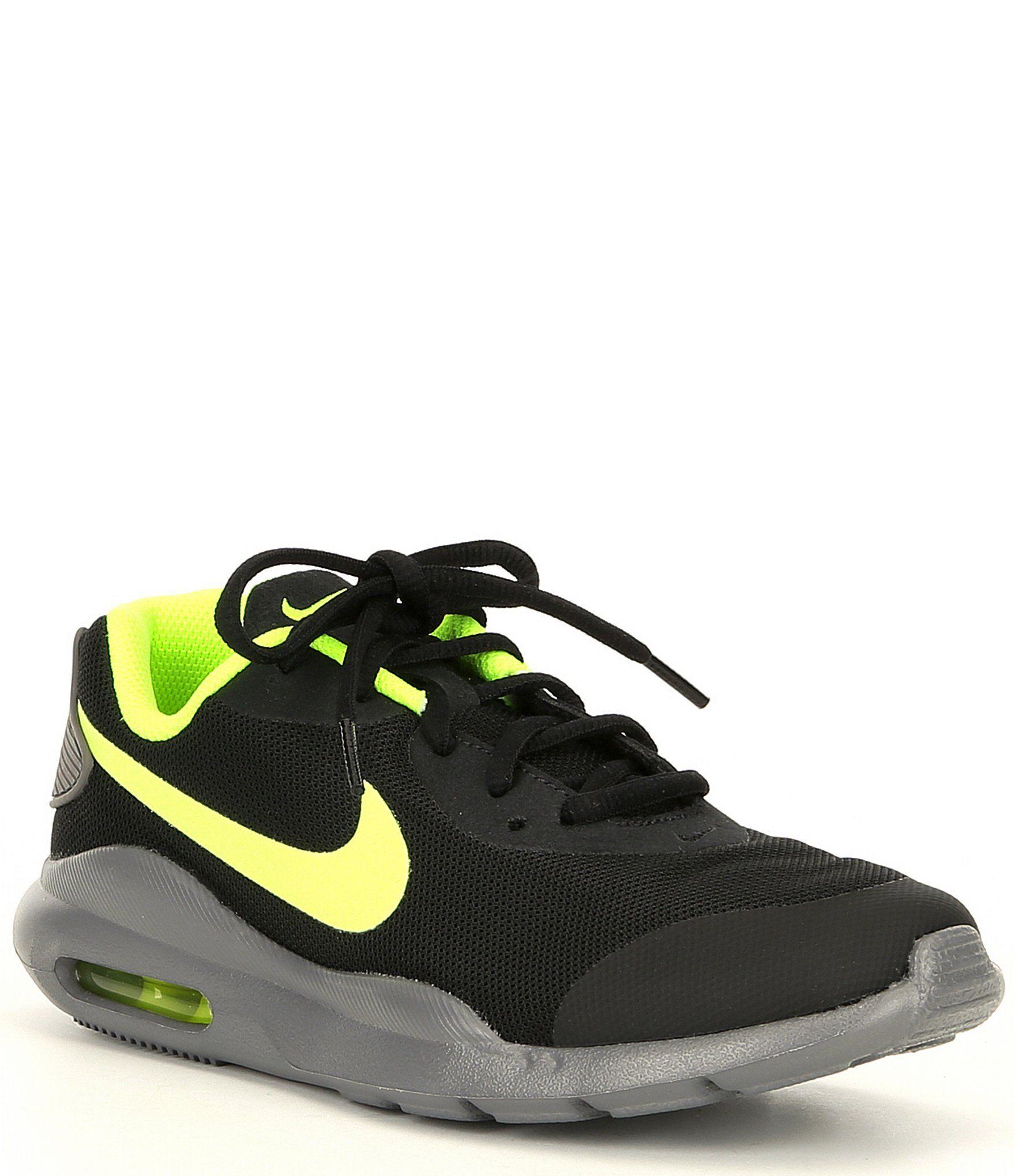 Nike Boys' Air Max Oketo GS Running Shoe BlackGunsmoke
