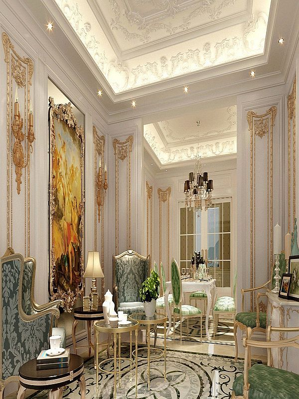 French Luxury Interior Design Classic New Homes