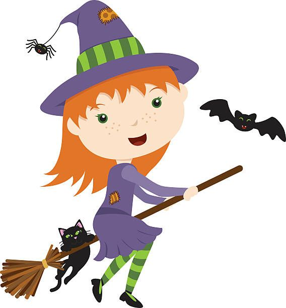 cute flying witch halloween clipart pinterest halloween rh pinterest ie witch clipart transparent background witch clip art animated