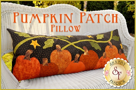 The Pumpkin Patch Pillow Kit - Laser Cut #pumpkinpatch