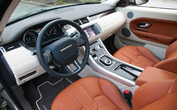 2012 Land Rover Range Rover Evoque 5 Door Dash Interior | My New Car ...