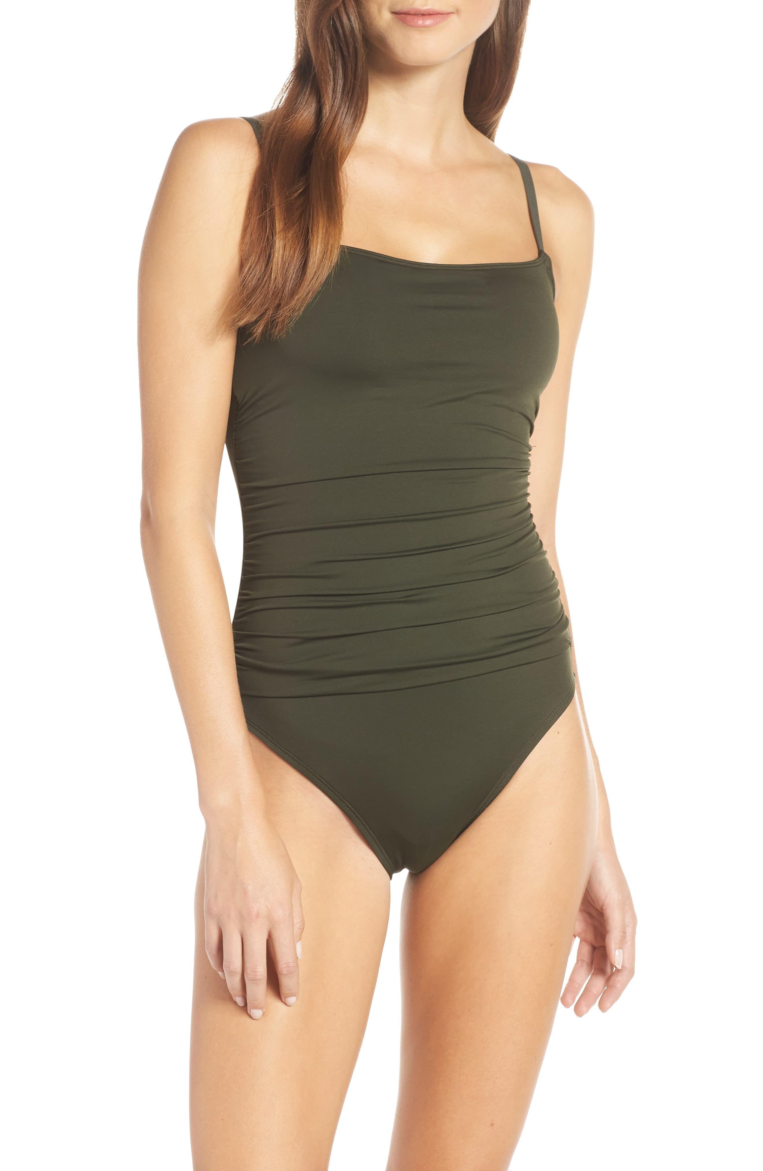 f1814153356 Women's La Blanca Island Goddess One-Piece Swimsuit, Size 6 - Black ...