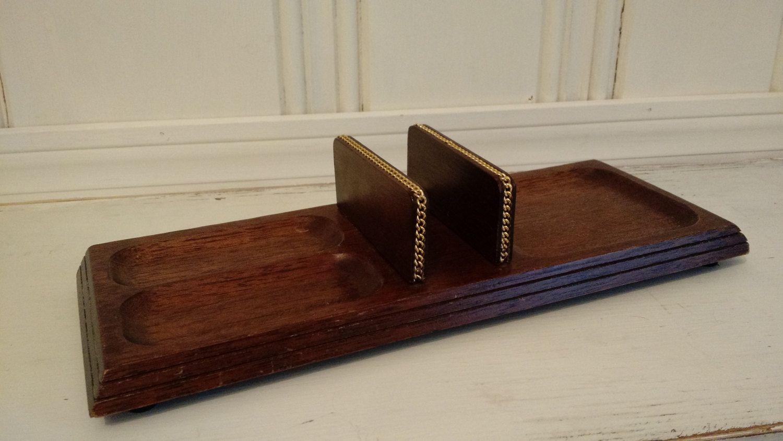 Men's Wooden Dresser with Chain