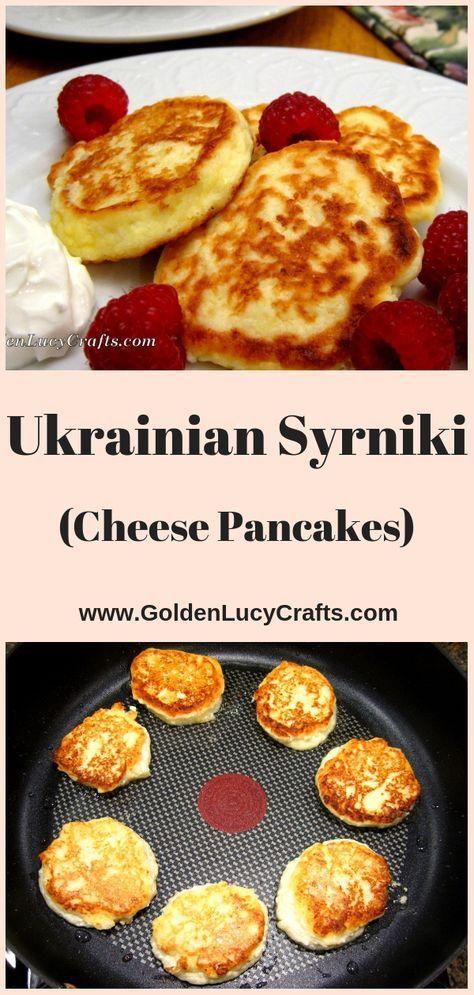 Farmer Cheese Pancakes (Ukrainian Syrniki