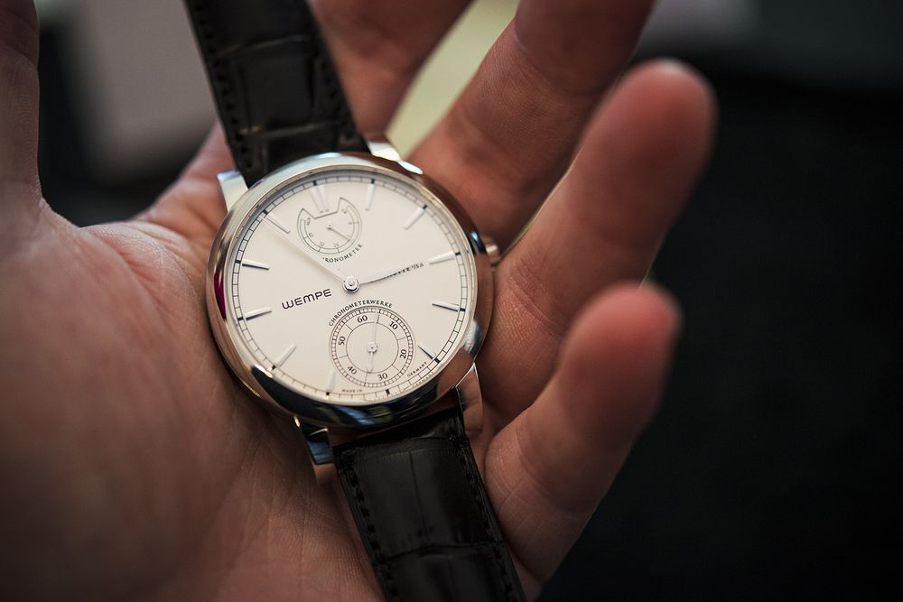 Wempe Chronometerwerke, A Nautical Chronometer For The Wrist