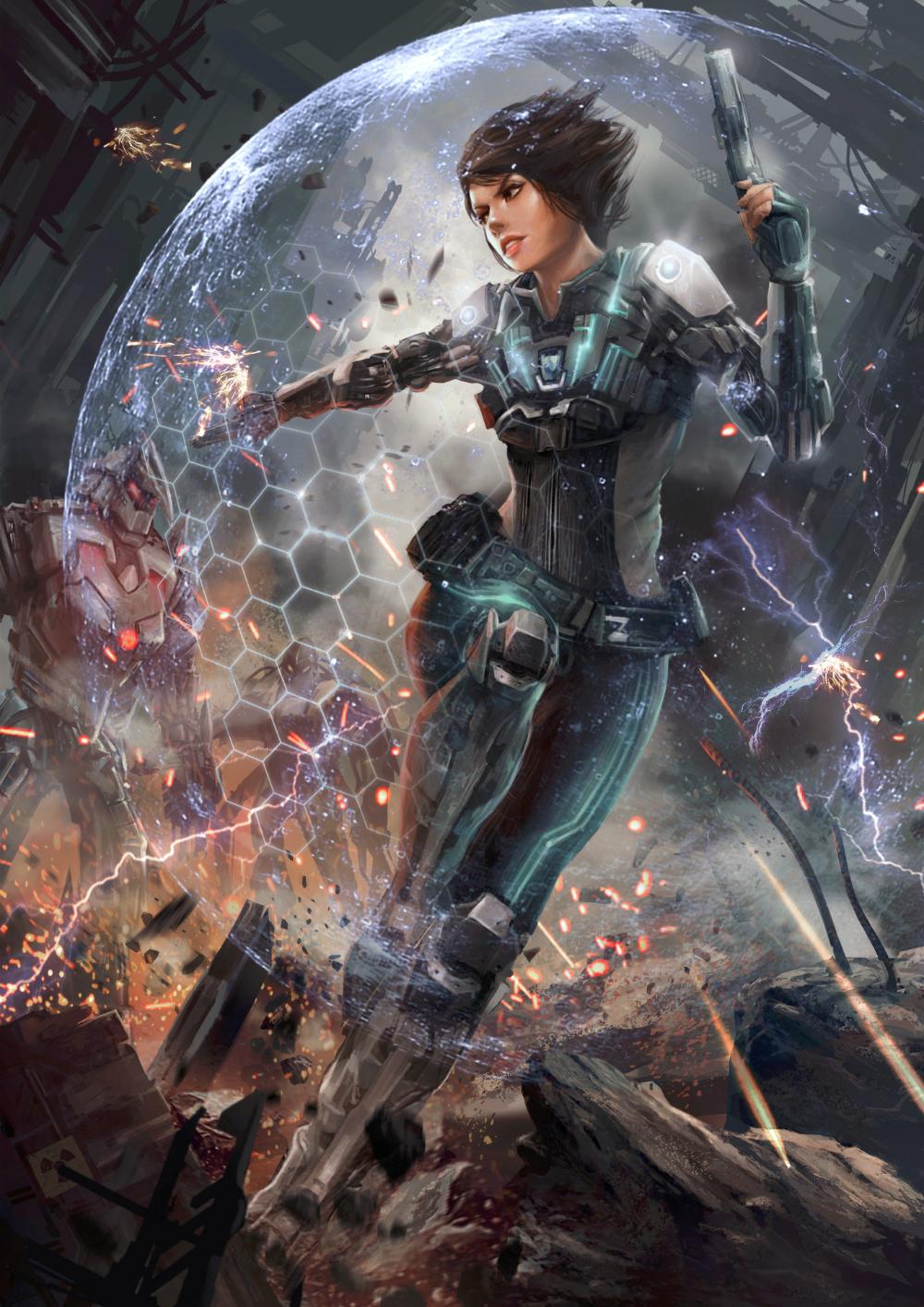 ArtStation - Battle of Steel, Zack Cy