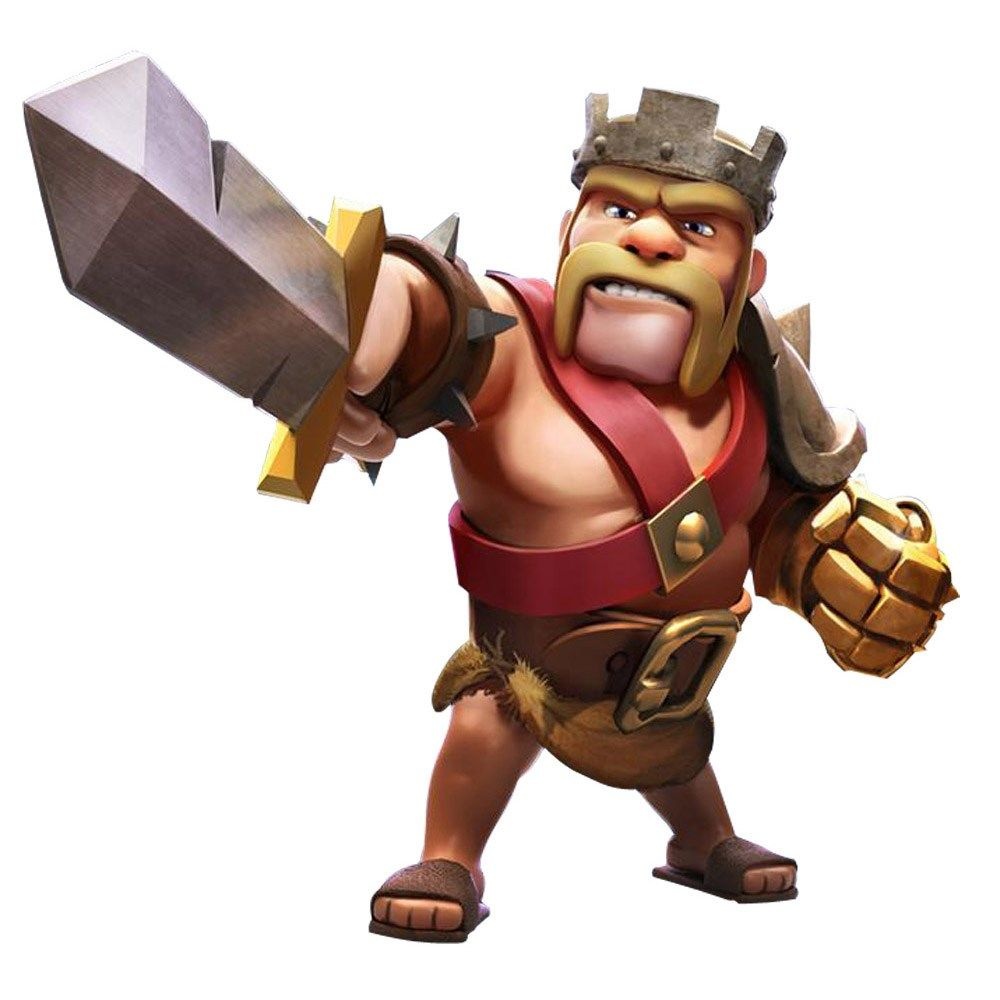 Clash Of Clans Barbarian King Pictures