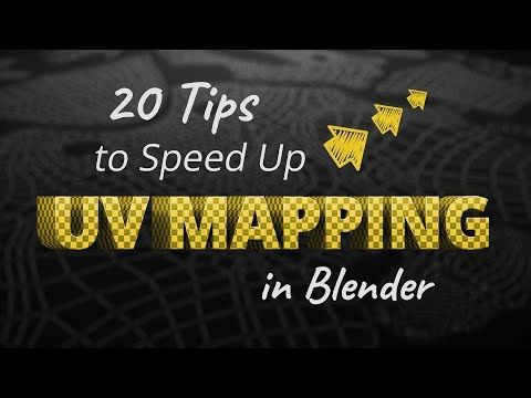 20 Tips To Speed Up Uv Mapping In Blender Blendernation With