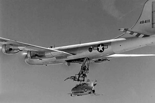 McDonnell_XF-85_Goblin-release -- Was there anything you couldn't do with a B-29?