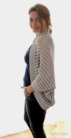 Photo of Crochet Soul Warmer // Jacke / Strickjacke