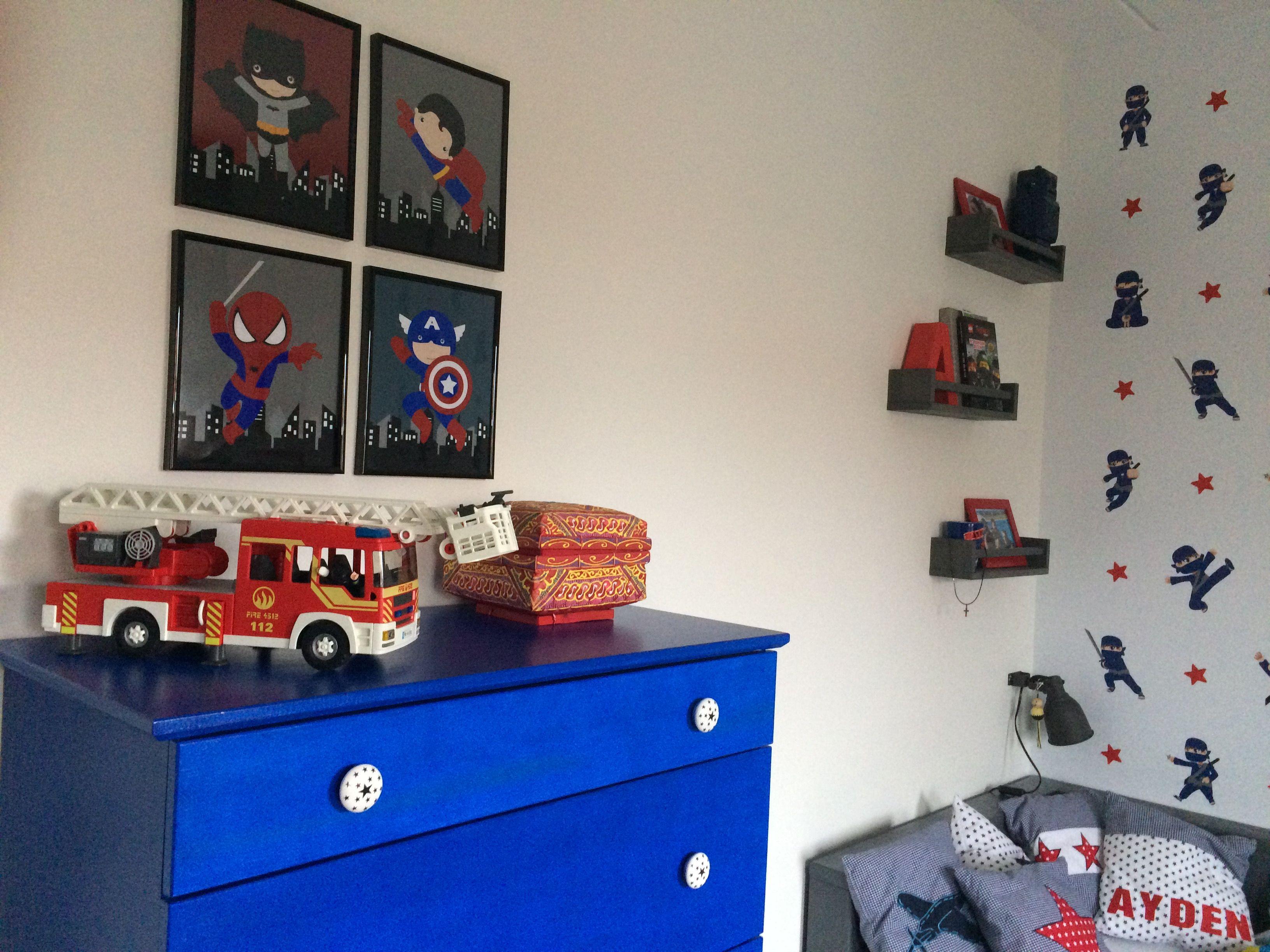 Ninja ninjago ninja slaapkamer ninja behang superhelden ikea tarva