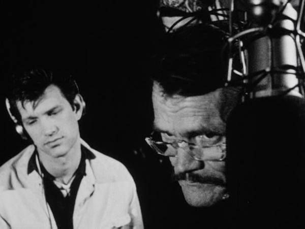 """Chris Isaak with Chet Baker in """"Let's Get Lost."""""""