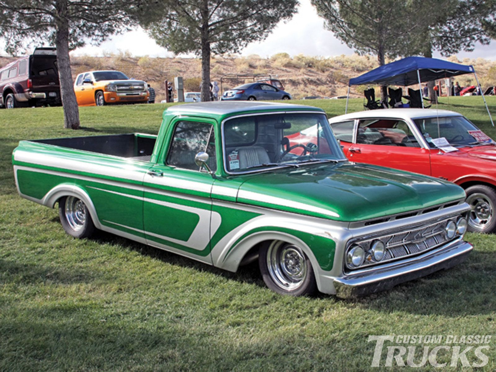 Ford unibody industrial chassis inc s f100