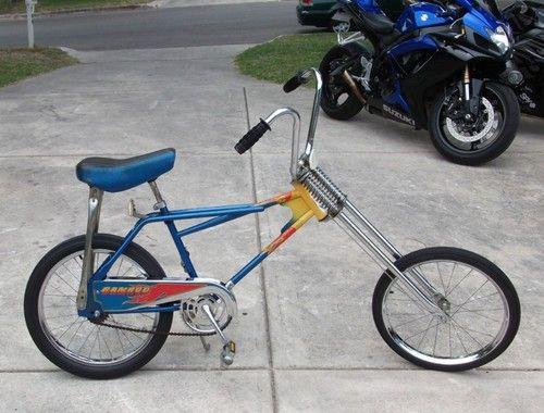 Super Rare Vintage Western Flyer Ramrod Ram Rod I Ii Chopper Bicycle Bike Retro Bicycle Bicycle Bike Kids Bicycle