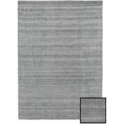Photo of Bambus Grass – Black_ grau Teppich 160×230 Moderner Teppich