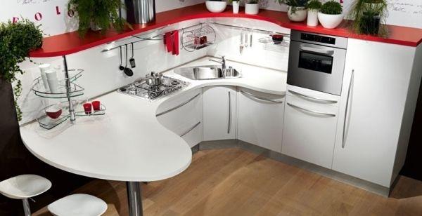 Kleine Küche 10 Ergonomische Einrichtungsideen Von Snaidero