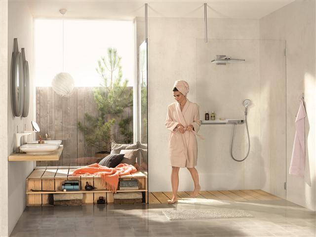 comment choisir la douche parfaite photo. Black Bedroom Furniture Sets. Home Design Ideas