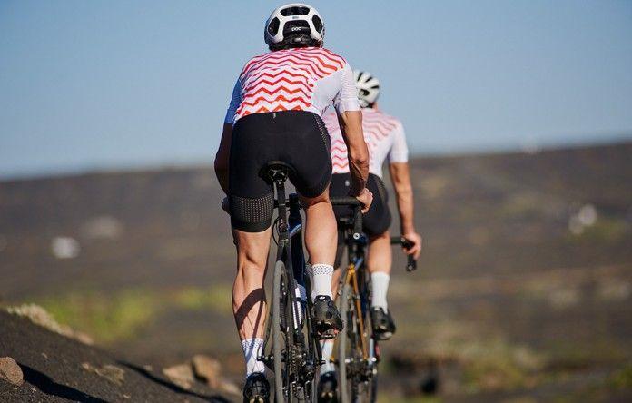 2b068ed3f Men s Micheline Ultra lightweight Cycling Jersey Bittersweet Orange ...
