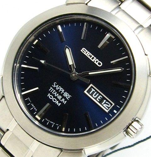 in stock 624c4 39f99 Seiko Men's Titanium SGG729P1 in 2019 | stuff | Seiko men ...