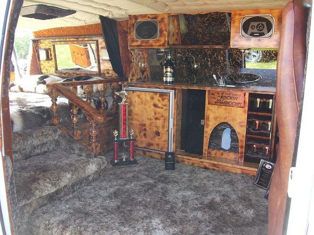 1977 Chevrolet Van Interior