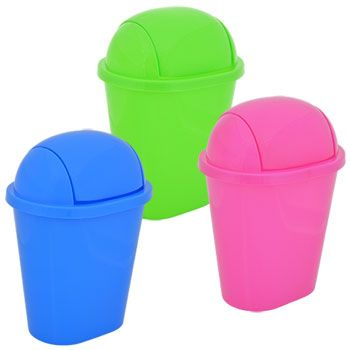 Brightly Colored Wastebaskets Are Perfect For Disposing Of Small Bits Trash Or Collecting Recyclable Materials In Home Offices Dorm Rooms