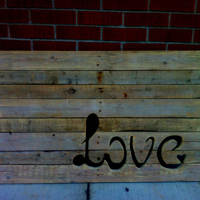 Wooden Skid Art Project Beaver Island Decorating Projects Art