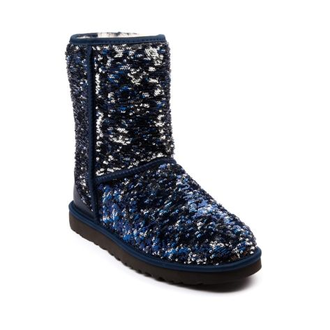 46c4a9d4503f8 Shop for Womens UGG® Classic Short Sequin Boot in Navy Sparkle at Journeys  Shoes. Shop today for the hottest brands in mens shoes and womens shoes at  ...