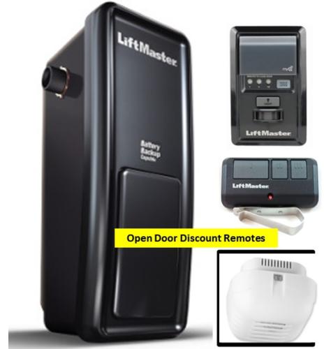 8500 Liftmaster Elite Series Myq Equipped Wall Mount Garage Door Opener W 893max 12381850013 Ebay Ad Garage Door Opener Garage Door Opener Remote Liftmaster