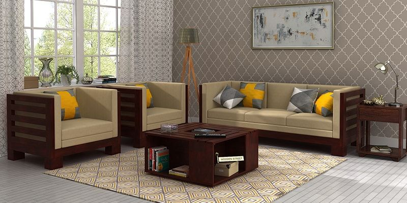 Indus Wooden Sofa Modern In Uk 60 Off