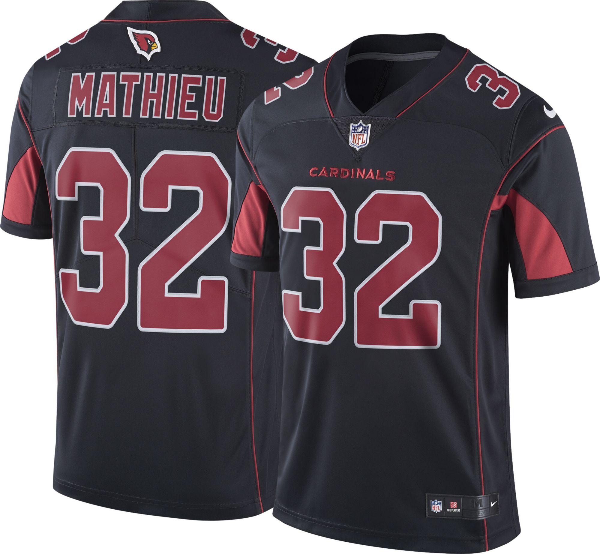 Nike Men s Color Rush Limited Jersey Arizona Cardinals Tyrann Mathieu  32 7da41e4dd