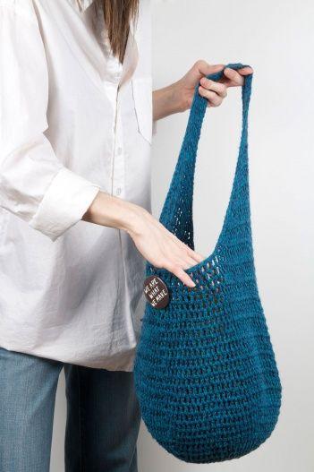 Perfect Summer Market Bag by Lion Brand | Häkeln, Stricken und ...
