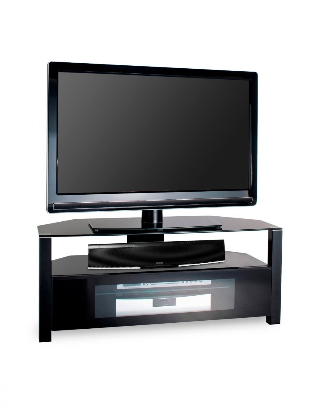 Ambri Tv Stand In Black For 55 The Ambri Embodies The Best In  # Alphason Meuble Tv