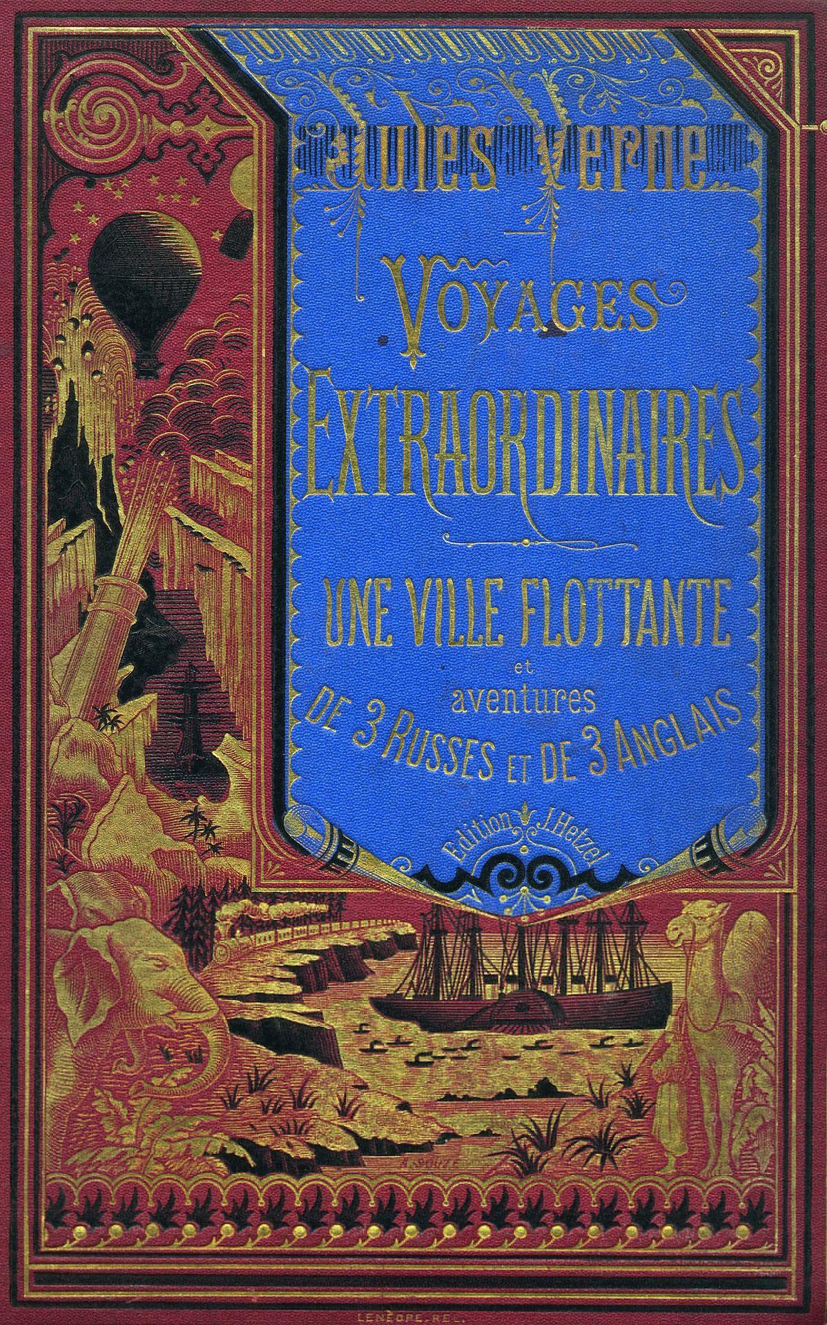 Jules Vernes book cover