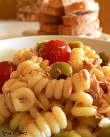 Salade De Pates Froide Thon Mayonnaise En 2018 Recettes De Cuisine