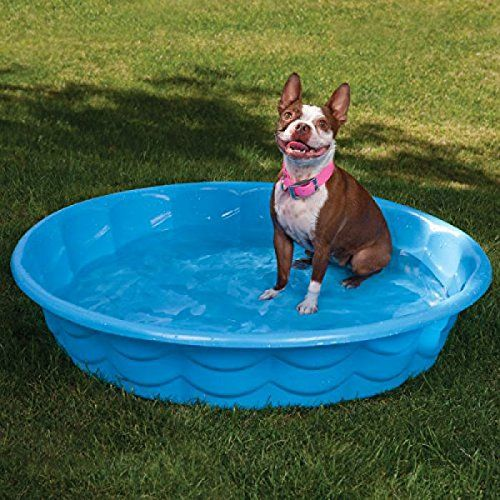 Summer Escapes 4ft Tough SemiRigid Dog Bath Paddling Pool