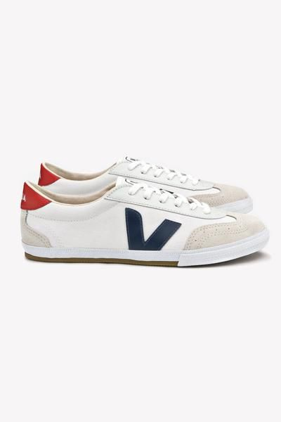 Regaño campo Intermedio  Veja Volley Canvas Sneaker (Nautico Pekin) – Sneakers – Amour Vert |  Sneakers, Canvas sneakers, Amour vert