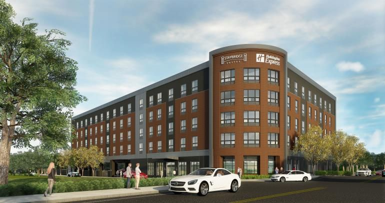 Ihg Announces New Build Dual Branded Staybridge Suites And