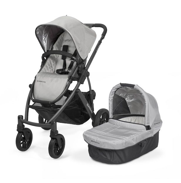 Limited Edition UPPAbaby Mica with Graphite Frame @ 599