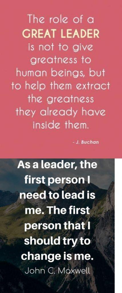 20+Leadership Quotes Men Freezer Fox Leadership quotes