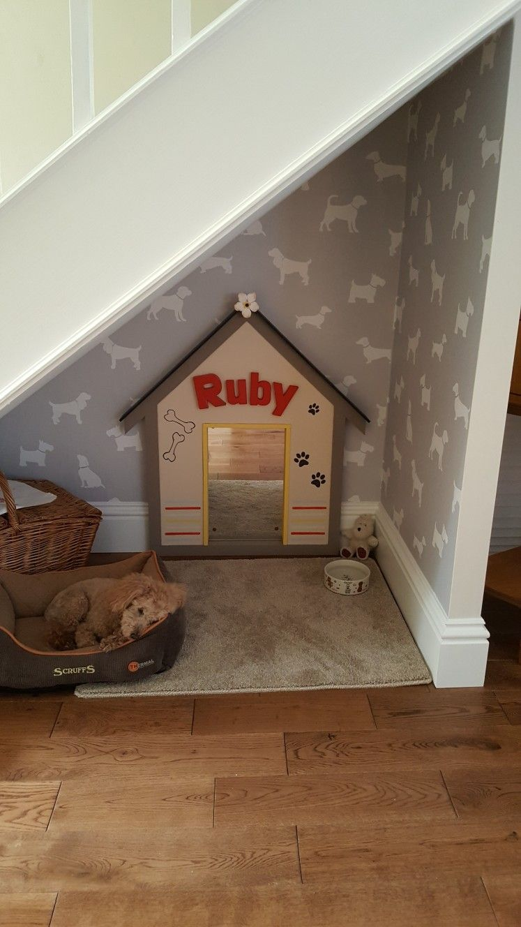 Laundry Room Dog Space Dogcrateextension Dog Bedroom Puppy Room Dog Spaces