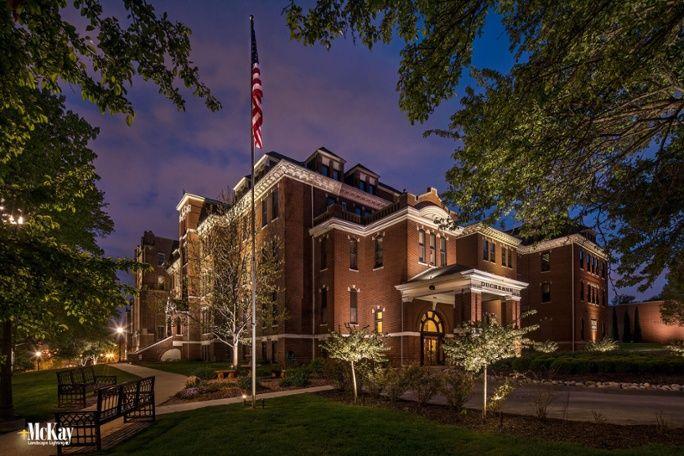 American Flag Landscape Lighting Requirements Landscape Lighting Outdoor Lighting Landscape Lighting Design