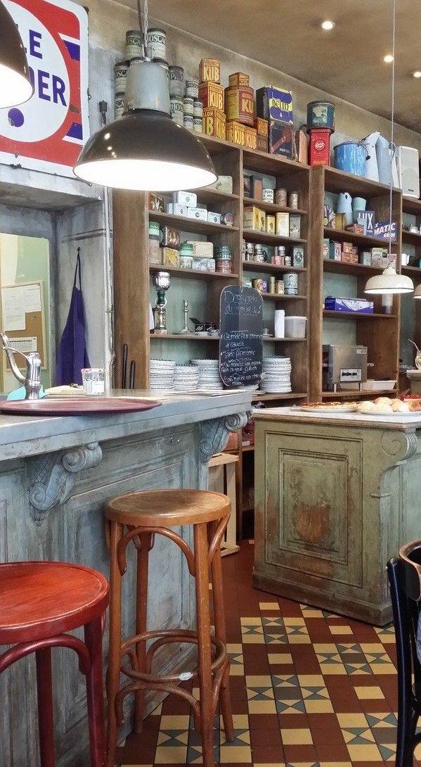 L Epicerie 6 Place Du Bouffa Design Interieur Restaurant Nantes Et Maison
