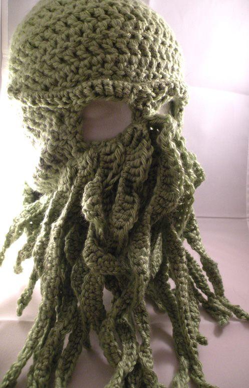 Cthulhu Ski Mask Crochet Pattern Thumbnail 1 Crafting How Tos