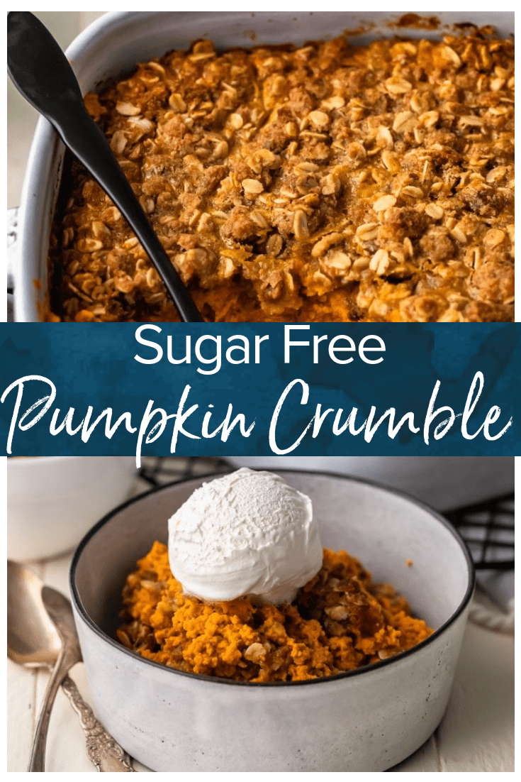 Easy Pumpkin Pie Crumble #pumpkindesserts