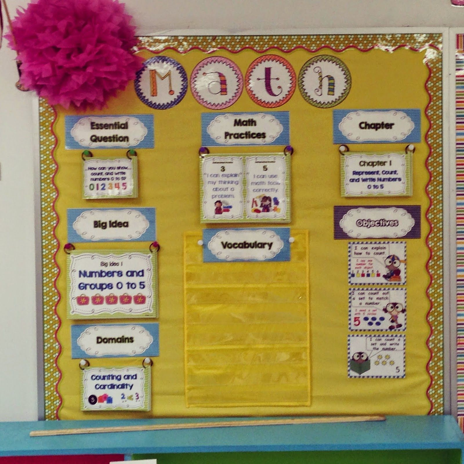 math focus board | Focus wall & bulletin boards | Pinterest | Math ...