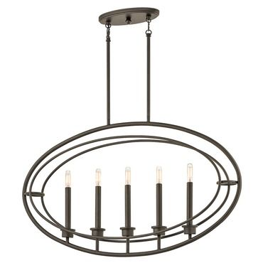 Shop kichler lighting imogen 5 light linear pendant at lowes canada find our selection of kitchen island lighting at the lowest price guaranteed with