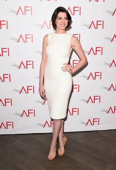 6f9e9f1c94 Anne Hathaway Photos - Actress Anne Hathaway attends the 15th Annual AFI  Awards at Four Seasons