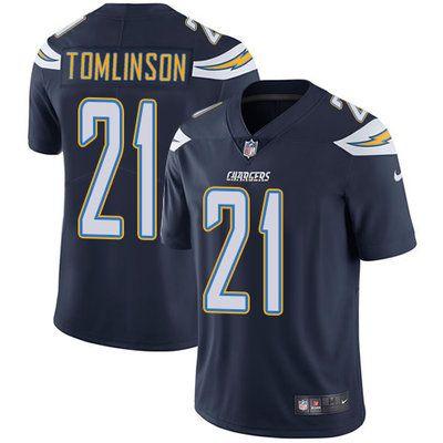 7981d0be0 Nike Chargers  21 LaDainian Tomlinson Navy Blue Team Color Men s Stitched NFL  Vapor Untouchable Limited